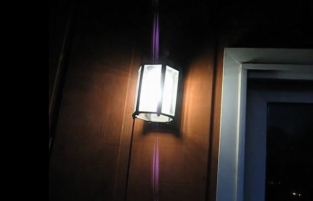 LED lights can ward off unwanted insects