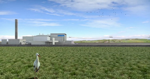 Covanta maintains the land free of waste