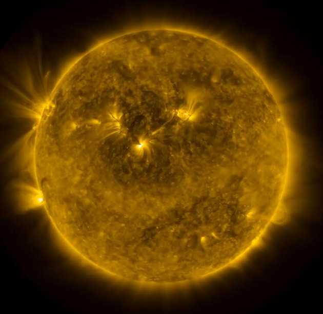 The Sun is a constant source of clean power.