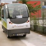 The EU tests electric driverless buses for the public transport