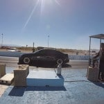 Tesla S P90D Ludicrous vs a modified Cadillac CTS-V in a new and intense Drag Race