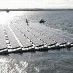 London hosts Europe's largest floating solar power farm