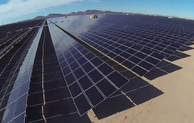 Solar power has the potential to end the fossil fuel era