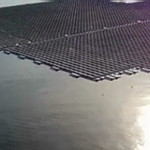 Europe's largest floating solar power farm is ready for opening