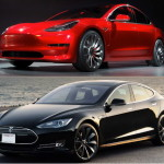 What are the differences between a Tesla Model S and the Model 3?