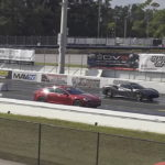 Tesla Model S P100D Ludicrous vs. Ferrari 488 GTB Spider in a new Drag Race