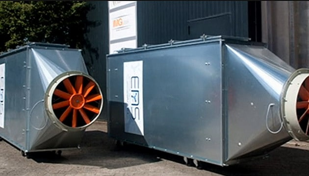 ENS air cleaning systems