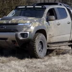 Chevrolet ZH2 is a hydrogen fuel cell truck used by the U.S. Army