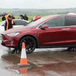 Tesla Model X P90D wins three consecutive drag races against very fast petrol-based Supercars