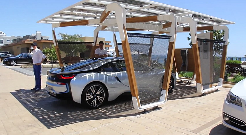 A New Solar Carport System From Bmw