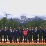 The G7 leading industrial nations agreed to stop the use of fossil fuels only at the end of the century