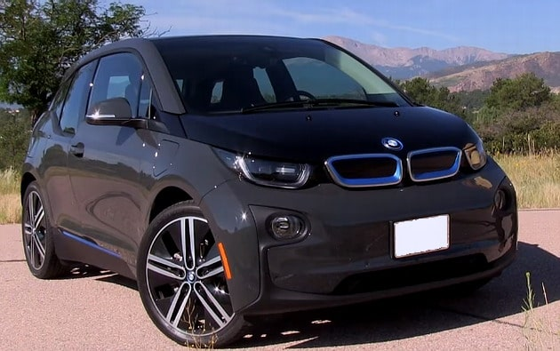 2016 BMW i3 is a stylish and agile electric car.