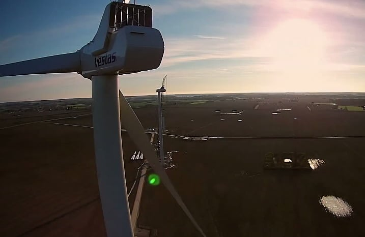 Vestas Wind is ranked seventh in the top of the companies that gain their revenues from renewable energy.