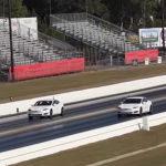 Tesla S P100D against a P90D and a P85D in a new drag race