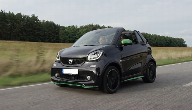 2017 Smart Fortwo is the Hottest Electric Convertible Car of this Summer