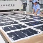 China's production of solar panels is growing in 2017