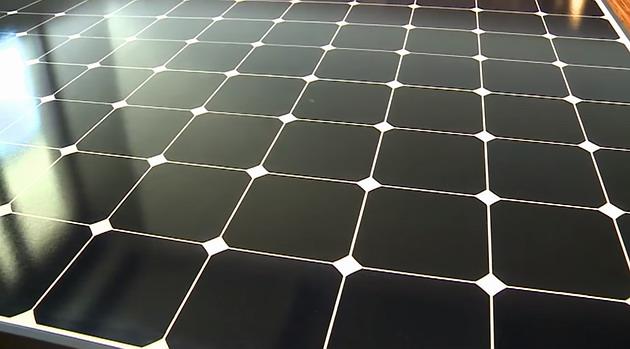 A more efficient solar panel