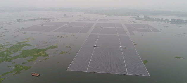 largest floating solar farms in the world
