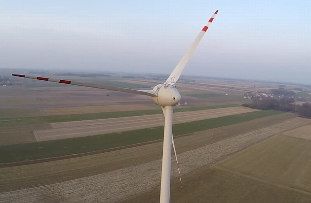 Wind power - one of the main energy sources of the planet.