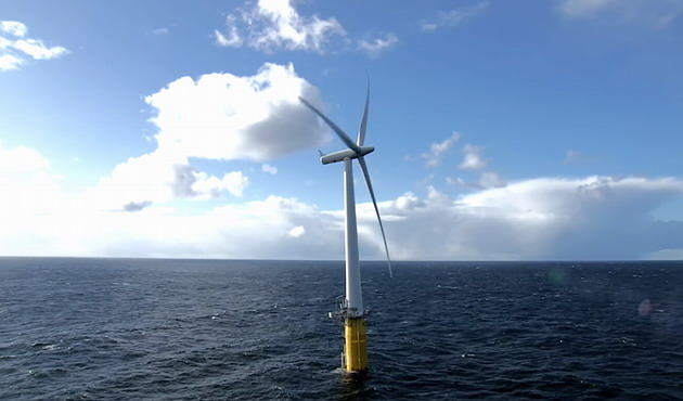 Large offshore wind turbine