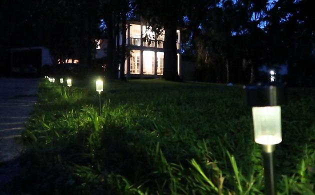 Solar Garden Lights For Exterior Lighting