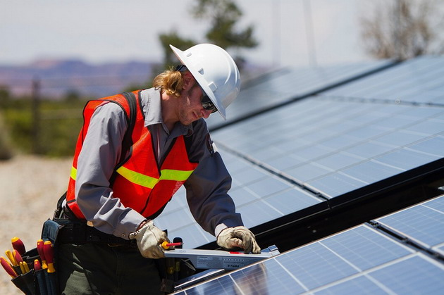 Installing a new solar PV system