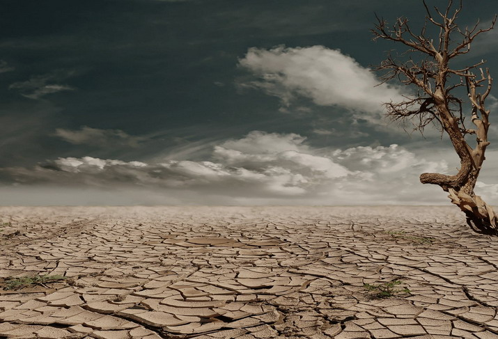 sever drought caused by climate change